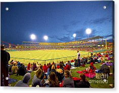 Indianapolis Indians Acrylic Print by David Haskett
