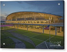 Indianapolis International Airport Acrylic Print by David Haskett