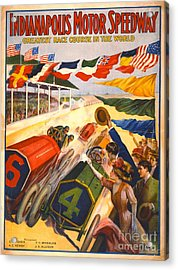 Indianapolis Motor Speedway 1909 Acrylic Print