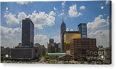 Indianapolis Skyline June 2013 Acrylic Print