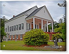 Acrylic Print featuring the photograph Indiantown Presbyterian Church by Linda Brown