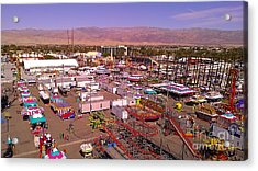 Indio Fair Grounds Acrylic Print