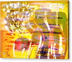 Indulge Acrylic Print by PainterArtist FIN