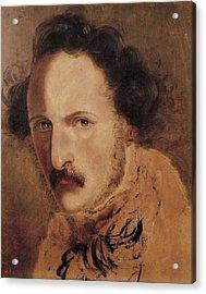 Induno, Domenico 1812-1878. Portrait Acrylic Print