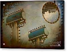 Industrial Accolades Acrylic Print by The Stone Age