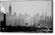 Industrial And Corporate Acrylic Print by James Aiken