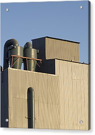 Industrial Building Acrylic Print by Stuart Hicks