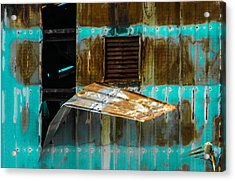 Industrial Decay Acrylic Print