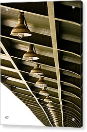 Industrial Lights Acrylic Print by Randi Kuhne