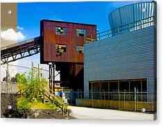 Industrial Power Plant Architectural Landscape Acrylic Print