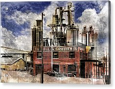 Industrial Work Acrylic Print by Davina Washington