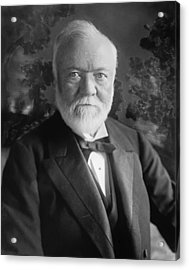 Industrialist Andrew Carnegie Acrylic Print