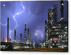 Acrylic Print featuring the photograph Lightning by Arterra Picture Library
