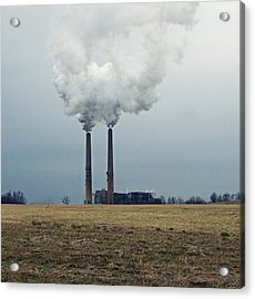 Industry Acrylic Print by Steven Michael