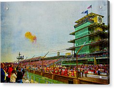 Indy 500 May 2013 Race Day Start Balloons Acrylic Print