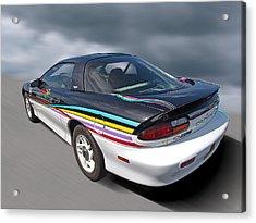Indy 500 Pace Car 1993 - Camaro Z28 Acrylic Print by Gill Billington