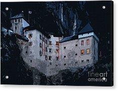 Infamous Jim-jam Predjama Castle Acrylic Print