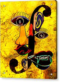 Infected Picasso Acrylic Print