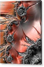 Inferno  Acrylic Print by Heidi Smith