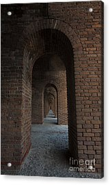 Acrylic Print featuring the photograph Infinite Arch's by Keith Kapple