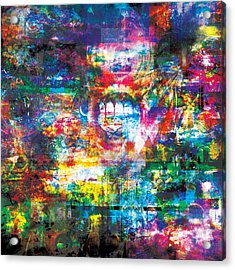 Infinite Bit 8 Acrylic Print