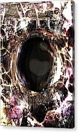 Infinite Depth Of Dreamers Eye Acrylic Print by Shawna Cheatham