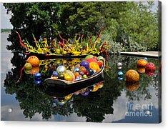 Infinity Boats Acrylic Print