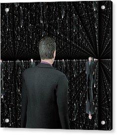 Infinity Of Mirrors Acrylic Print