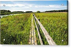 Acrylic Print featuring the photograph Infinity Way by Leif Sohlman