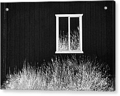 Infrared Barn Acrylic Print by Sharon Beth