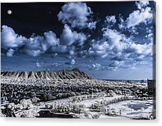 Infrared Diamond Head Acrylic Print