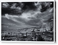 Infrared In Krabi Acrylic Print by River Engel