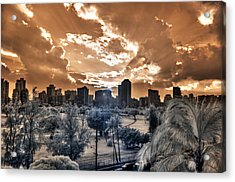 Infrared Sunset Acrylic Print