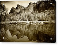 Infrared View Of Yosemite Acrylic Print
