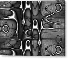 Infrastructure Acrylic Print by Kiki Art