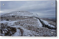 Ingleborough Acrylic Print by Riley Handforth