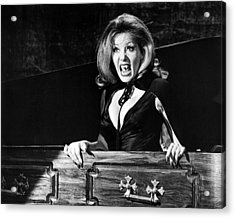 Ingrid Pitt In The House That Dripped Blood  Acrylic Print by Silver Screen
