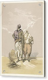 Inhabitants Of Mooltan (aka  Multan) - Acrylic Print by Mary Evans Picture Library