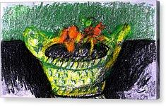 Inherited Planter Acrylic Print by Anita Dale Livaditis