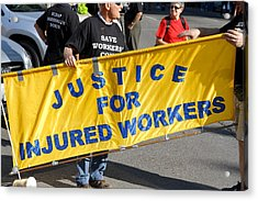 Injured Workers Rights Acrylic Print