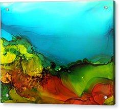 Ink Landscape # 131 Acrylic Print