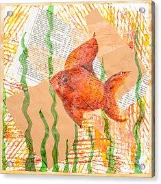 Inky Fish Acrylic Print