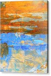 Inland Sea Acrylic Print by Nancy Kane Chapman