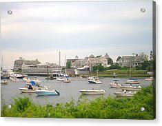 Acrylic Print featuring the photograph Inlet At Harwich Cape Cod Maine by Suzanne Powers