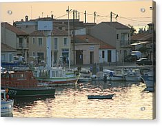 Inlet Carol South France Acrylic Print