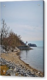Inlet Lighthouse Acrylic Print by Greg Jackson