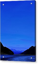 Acrylic Print featuring the photograph Inlet by Michael Nowotny