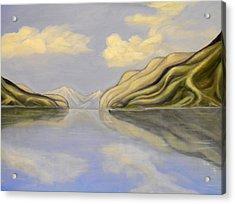 Inlet Mirror Acrylic Print
