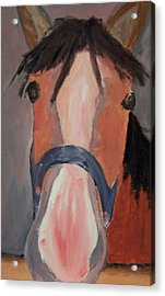Inner Child Acrylic Print by Krista Ouellette
