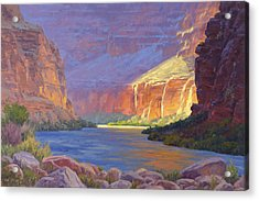 Inner Glow Of The Canyon Acrylic Print